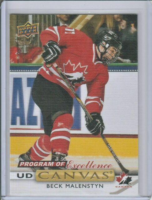 19-20 UD Series 2 Canvas #C266 Program of Excellence Beck Malenstyn CAPITALS