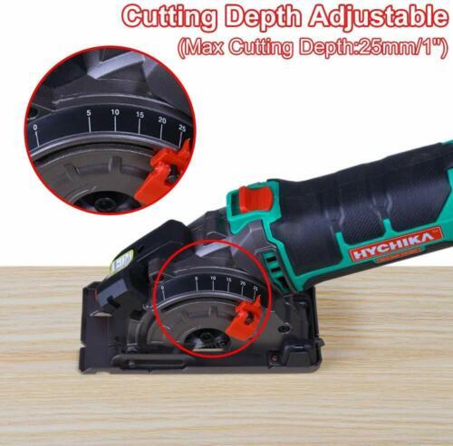 500W Multi-Function Circular Mini Saw Wood Soft Metal Tile Plastic Cuts Laser