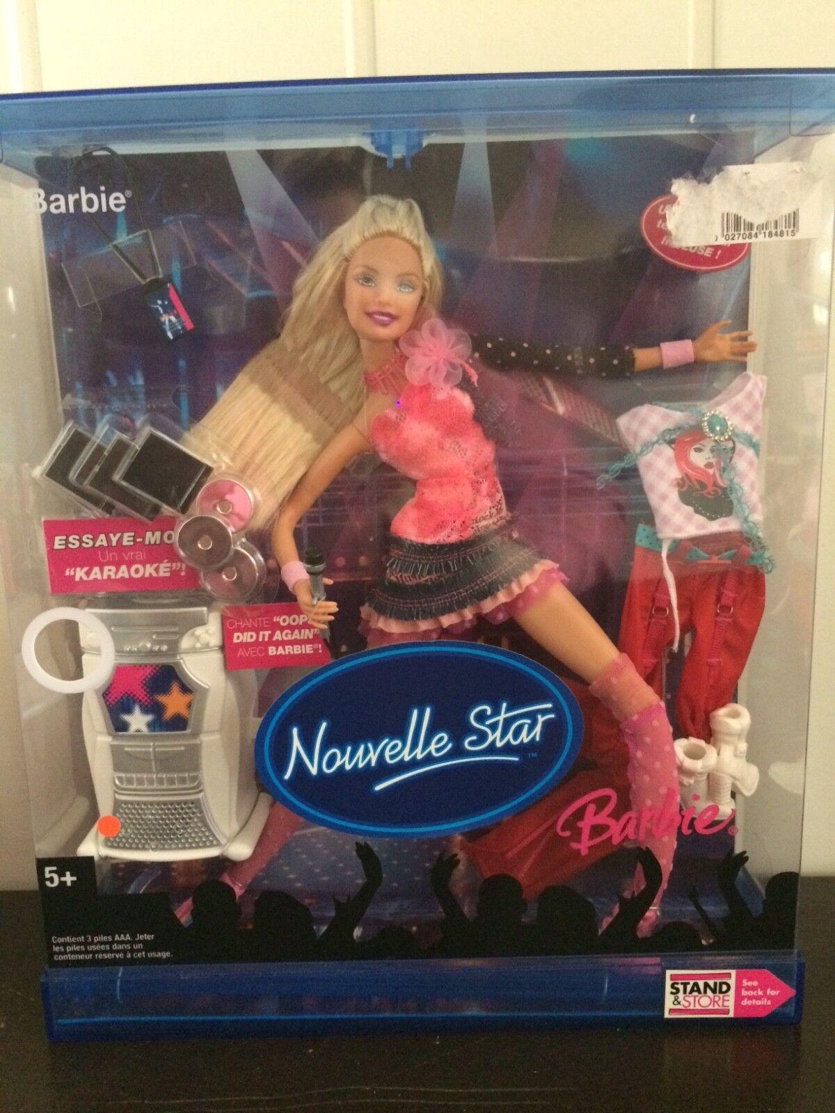 BARBIE nouvelle STAR NUOVO MATTEL g7997