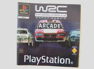 56495-Instruction-Booklet-WRC-FIA-World-Rally-Championship-Sony-PS1-Playstat