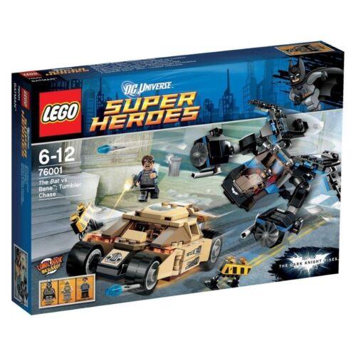 Lego Dc Universe™ Super Eroi 76001 Inseguimento in Bicchiere Nuovo Conf Orig.
