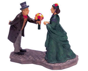 Lemax-2002-For-The-Lady-Village-Collection-22615A-Retired-Poly-ResinFigurine