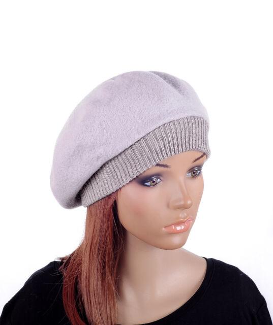 M498 Black Women/'s Wool Acrylic Winter Beanie Hat Beret Cap Korea Street Hot