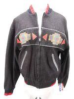 Vintage Unisex Western Cowboy Authentic Pioneer Wear Jacket Indian Medium M