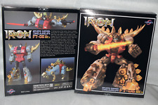 Transformers Fans Toys FT-06 Masterpiece MP Snarl Roar Dinobots in Stock