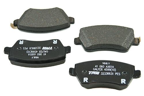 4x Nissan Genuine Micra Note Car Front Brake Pads OEM Braking Pad Set D1060BH40A