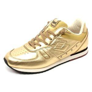 ad9b9f3234 Dettagli su B6706 sneaker donna LOTTO LEGGENDA TOKYO SHIBUYA scarpe oro  shoe woman