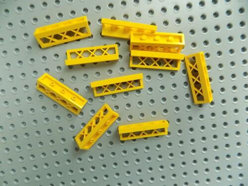 LEGO part 3633  Fence 1 x 4 x 1 Lattice lot of 10 pieces  pick your color