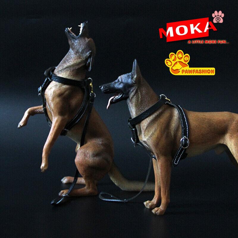 1  6 Scale Animal giocattoli PAWmoda 1 6 Belgian Malinois Resin cifra modellololo nuovo  acquista la qualità autentica al 100%