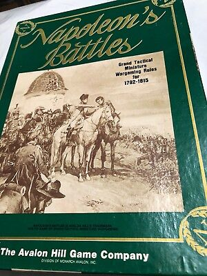 NAPOLEON'S BATTLES GRAND TACTICAL MINIATURE WARGAMING RULES FOR 1792