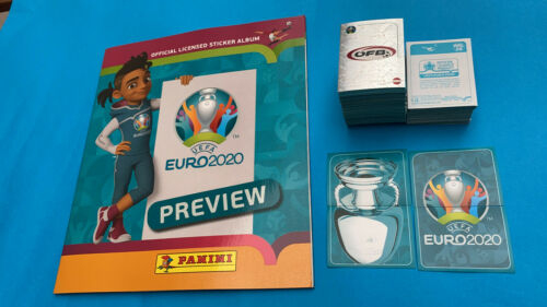 Leeralbum Panini EURO EM 2020 Preview komplett Set Alle Sticker 568