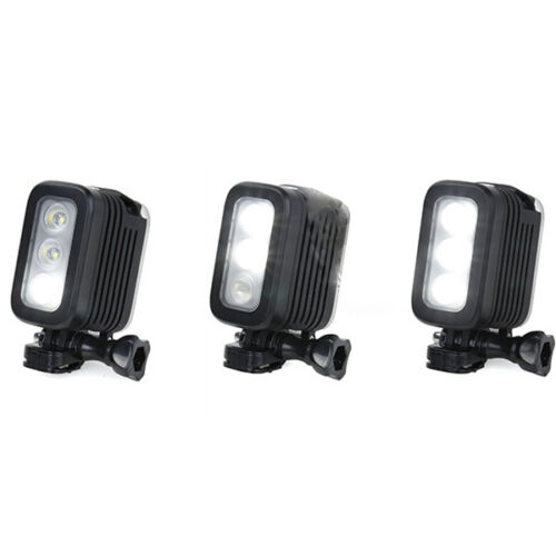 4 Underwater waterproof diving LED Light Action Black For GoPro Action Camera 3