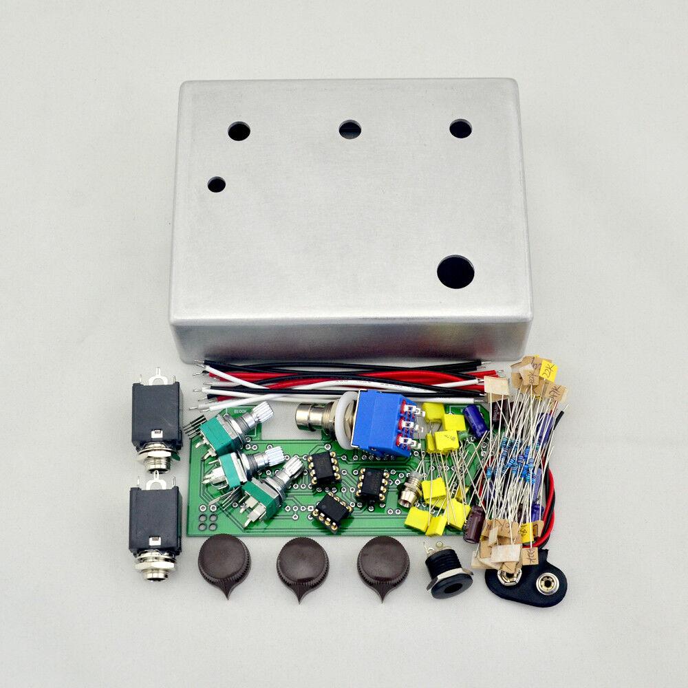 Hágalo usted mismo Pedal De Overdrive todos los kits con con con caja caja de aluminio 1590BB Envío Gratis  tienda en linea