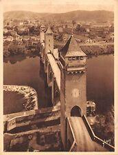 Br45032 Cahors le pont valente Salsanos Publicite advertaising france