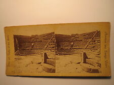 Italien Pompei - Teatro Minore - Pompeji / Stereofoto Stereobild