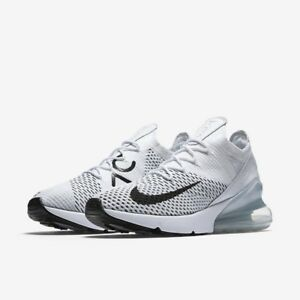 half off f3ba2 bb960 Image is loading Womens-Air-Max-270-Flyknit-AH6803-100-White-