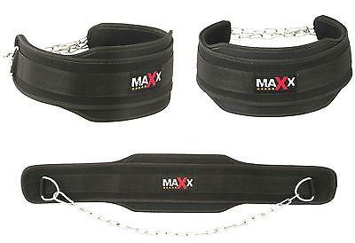 Maxx Cintura Immersione Body Building Peso Dip Sollevamento Catena Esercizio Gym Training G-mostra Il Titolo Originale