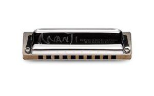 100% De Qualité Suzuki M-20c-c Manji 10 Trous Harmonica Diatonique, Pays Tuning, Clé De C-afficher Le Titre D'origine