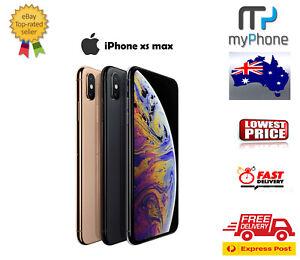 Apple-iPhone-XS-MAX-64GB-256GB-512GB-CHEAP-UNLOCKED-AUSTRALIAN-STOCK-Free-Exp