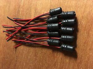 (10)WEDGE LAMP T10 BULB SOCKET WIRES METER DIAL pioneer SX RECEIVERS LIGHTS