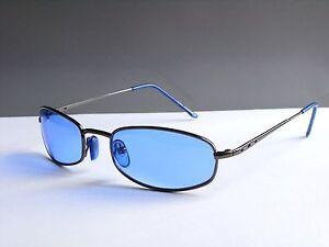 Style Modern Herren / Damen Sonnenbrille Sunglasses Blau 100% UV (M143) NEU !!