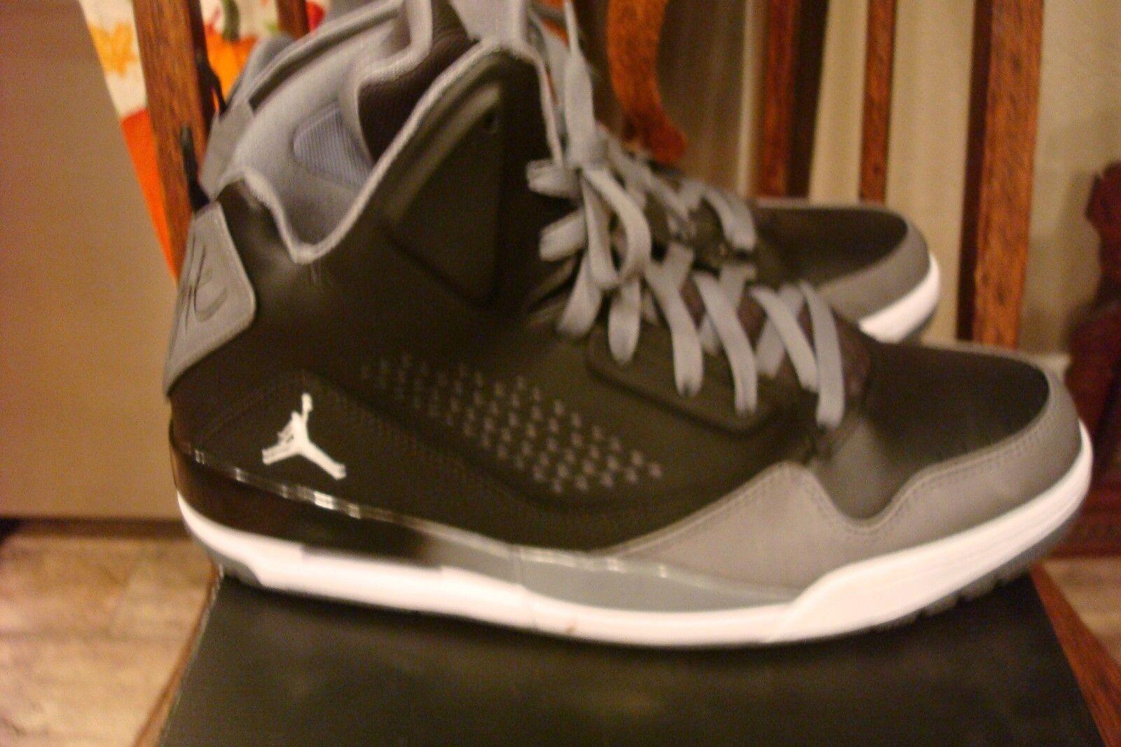 premium selection 54cca 8fe8a ... NIB NIB NIB Nike Air Jordan Flights SC-3 Men s 12 Black White  ...