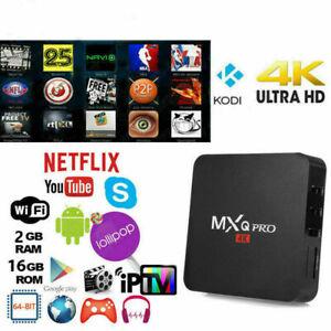TV-BOX-ANDROID-IPTV-4K-FULL-HD-1080P-2GB-16GB-RAM-SMART-DECODER-WIFI-MXQ-PRO