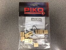 PIKO 35294 G SCALE RAIL CLAMP (OVER JOINER TYPE) (Pkg. of 10)New in Bag