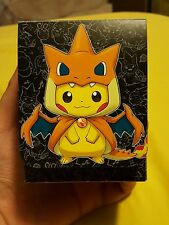pikazard deck box pikachu charizard japanese yugioh card rare