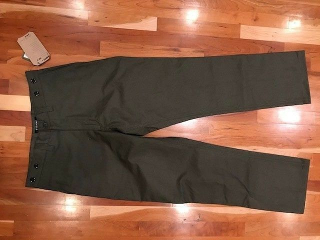 NEW FILSON MADE IN USA  Herren DRY SHELTER CLOTH PANT Multiple Größes MSRP 165