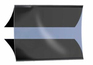 Brillant Prinz Gs908 Coupe En Bloc, Gard, Noir 120 X 65 Mm Noir Prix Le Moins Cher De Notre Site