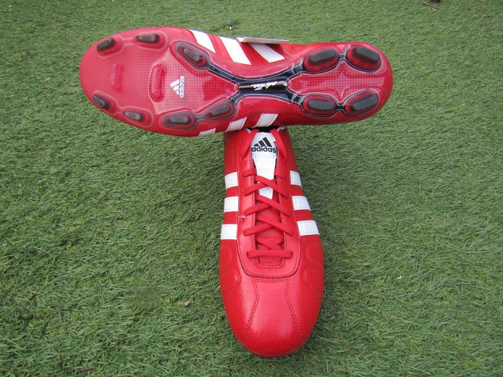 BNWT NEW ADIDAS ADIPURE IV TRX FG FOOTBALL BOOTS WHITE UK SIZE 11.5 Not mania