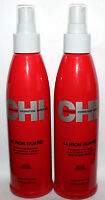 Lot Of 2 Farouk Chi 44 Iron Guard Thermal Protection Hair Spray 8.5 Oz Each
