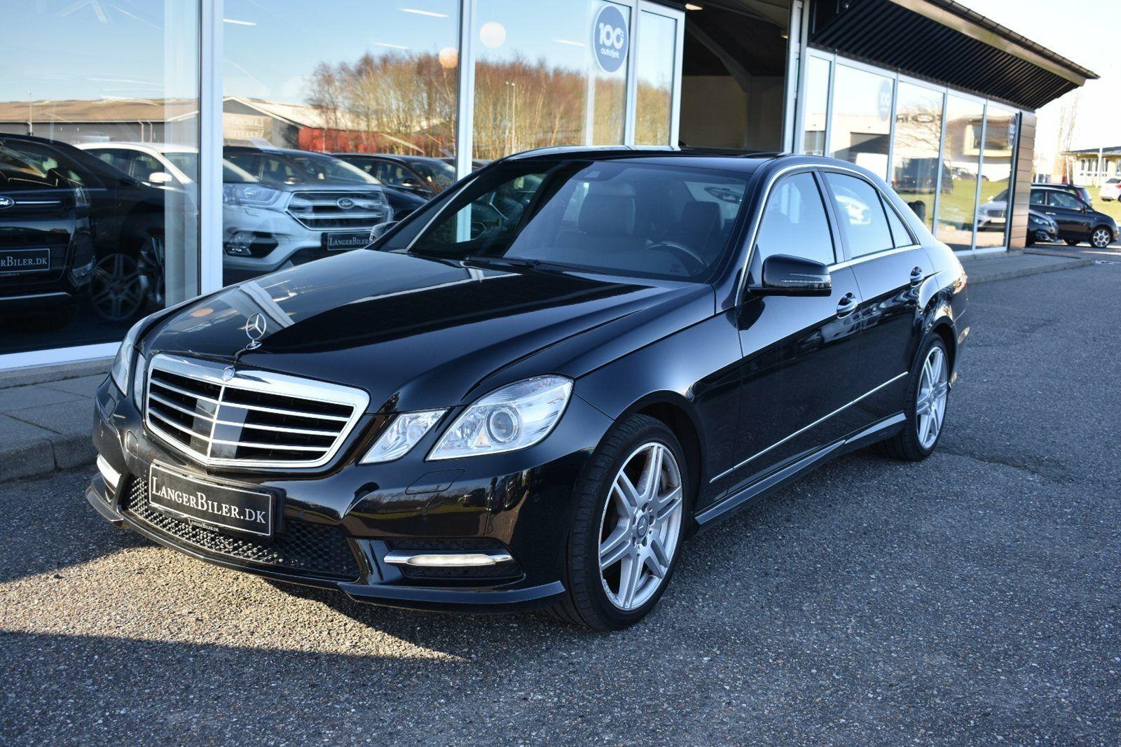 Mercedes E350 3,0 CDi Avantgarde aut. 4-M BE 4d