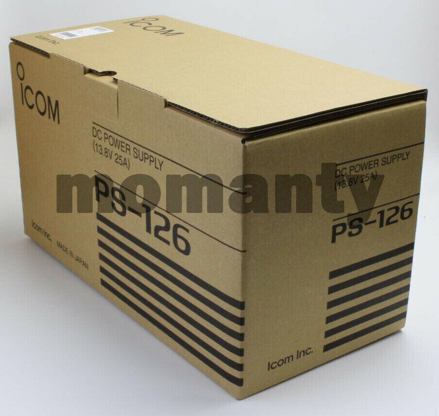 ICOM PS-126 DC Power Supplies IC7600,IC7300,IC7100,IC7410,IC7200,IC9100,IC7000. Buy it now for 357.78