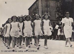 Defile-des-ecolieres-Limoges-1940