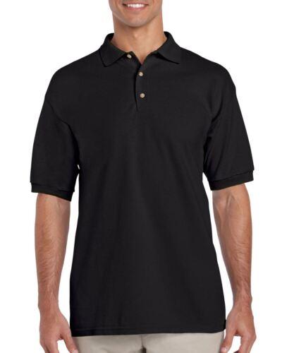 Gildan Ultra Cotton Adult Pique Plain Polo Shirt Tee T Shirt Ringspun Tshirt