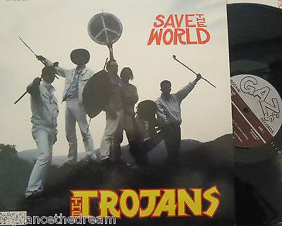 THE TROJANS - Save The World ~ VINYL LP