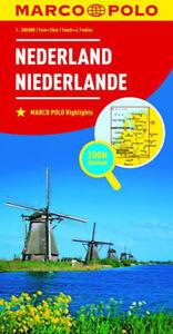 Olanda Cartina Stradale.Paesi Bassi Olanda Cartina Stradale 1 300 000 Mappa Carta Poster Marco Polo Ebay