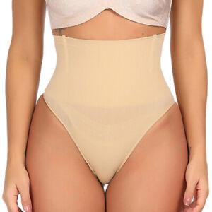 Women-High-Waist-Thong-Body-Shaper-Tummy-Control-Butt-Lifter-Underwear-Shapewear
