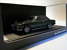 ignition model 1/43 Nissan Skyline 2000 GT-X (KGC10) Green Resin Model IG0380