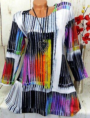 Leins Designer Kleid Tunika Bluse Shirt Top Longshirt A ...