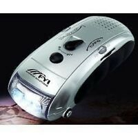 Dynamo Flashlight - Am/fm Radio - Cell Phone Charging Port - No Batteries