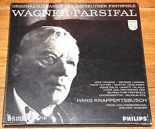 WAGNER PARSIFAL HANS KNAPPERTSBUSCH MAROON PHILIPS HI-FI STEREO 5-DISC BOX 3475