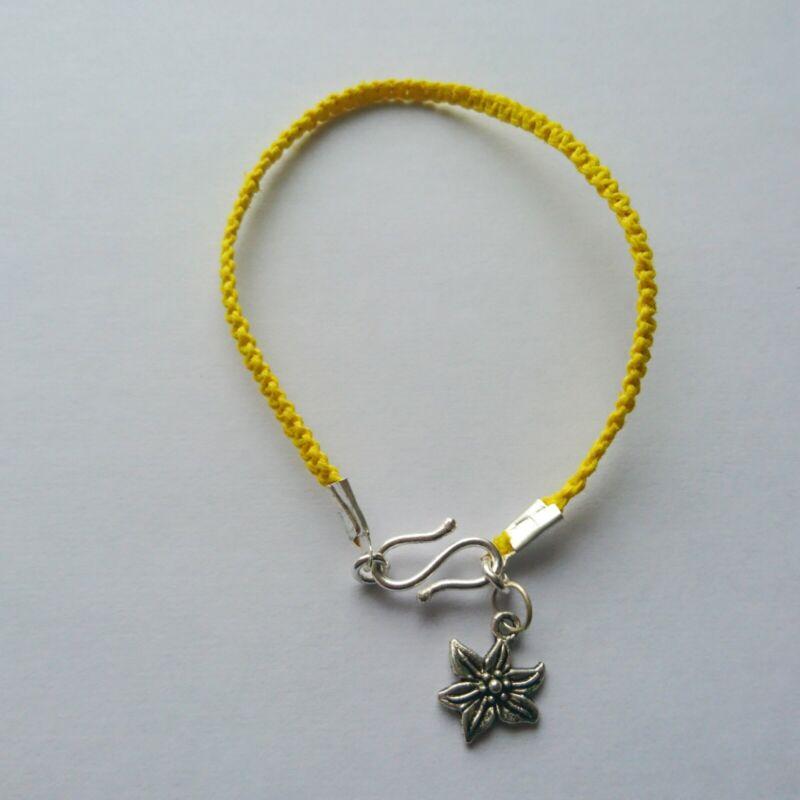 Handmade Rope And Pendant Friendship Bracelets