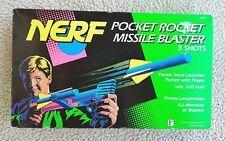 VERY RARE VINTAGE 1993 NERF POCKET MASTER RIP ROCKETS KENNER Blast Hammer Moc