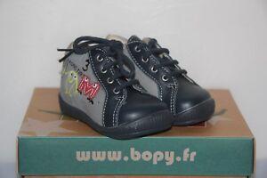 Bopy 17 pelle Infant grigio Zadig Infant e Nuovo in Boots blu Boy's T CCfrxg