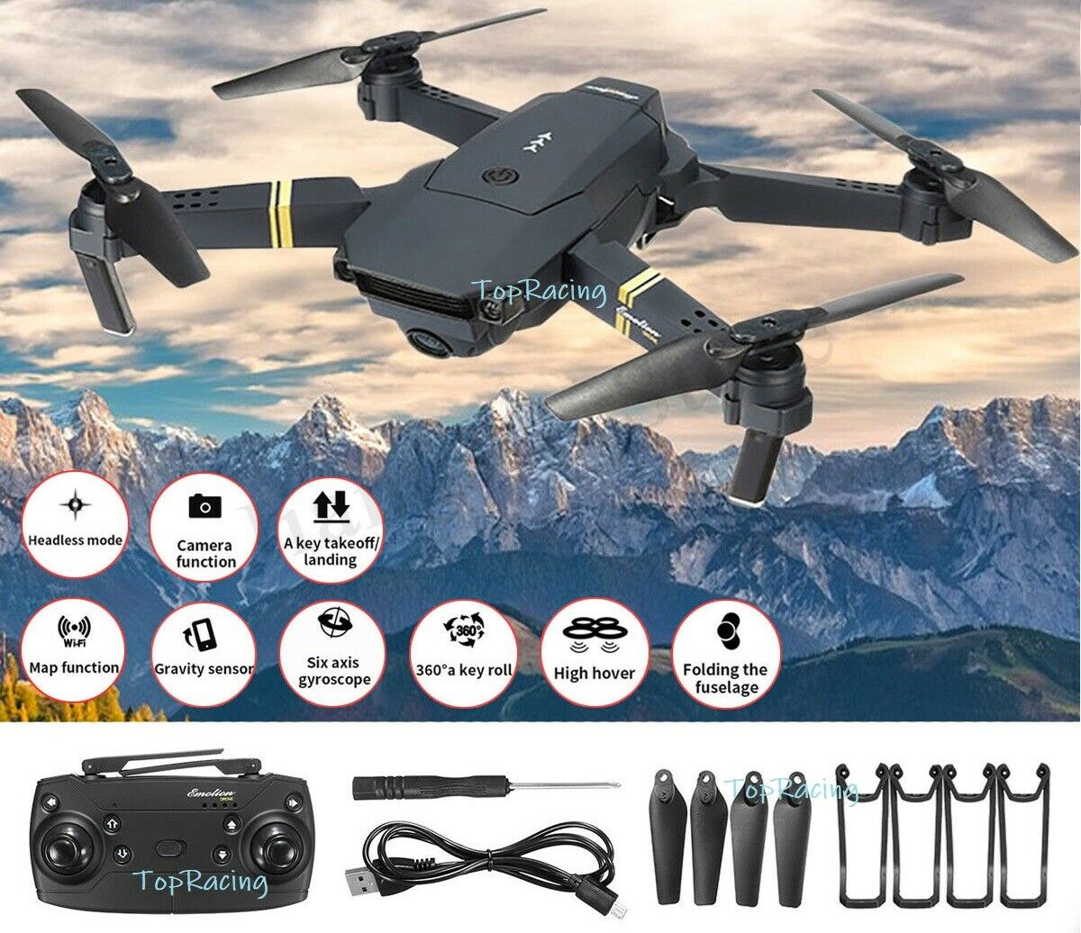 L800 e58 2.4G 4CH 6Axis WIFI FPV 0.3MP 2MP HD Headless RC Drone Quadcopter