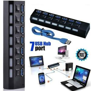 7port-USB-2-0-3-0-HUB-With-Power-On-Off-Switch-High-Speed-Adapter-For-PC