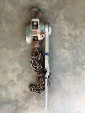 Cm 1 12 Ton 10 Lift Puller Chain Lever Hoist Come Along Aluminum 3000 Cap